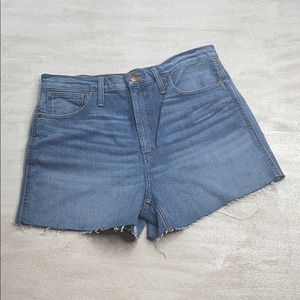 MADEWELL Cut Off Shorts size 31
